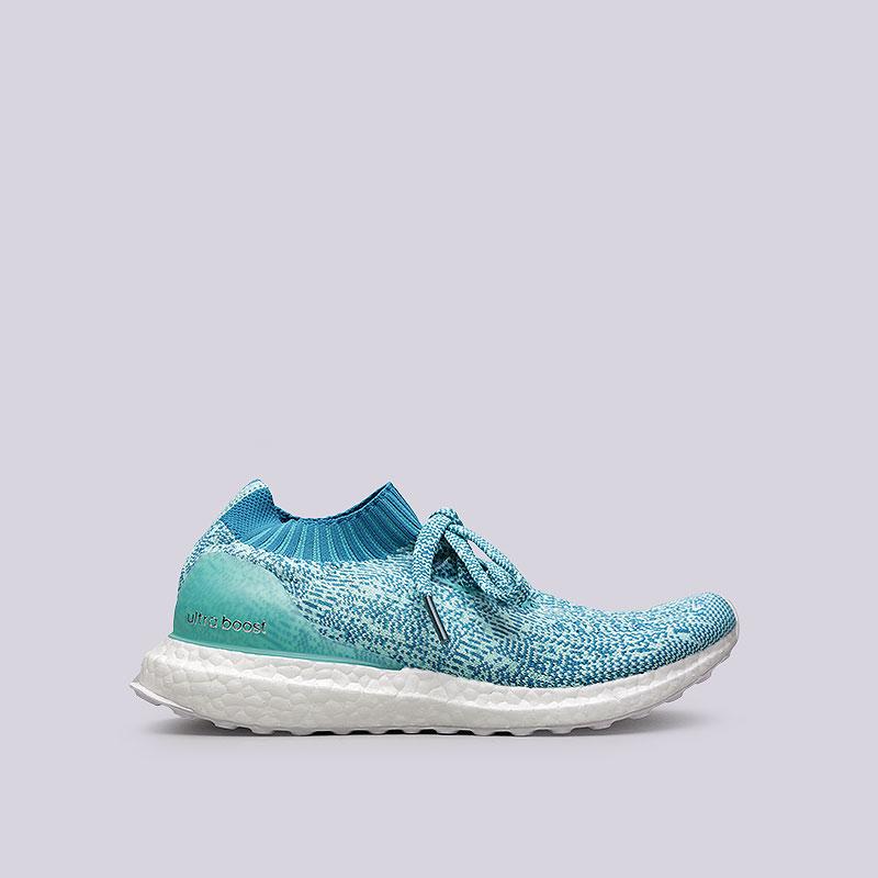 женские голубые  кроссовки adidas ultraboost uncaged w S80781 - цена, описание, фото 1