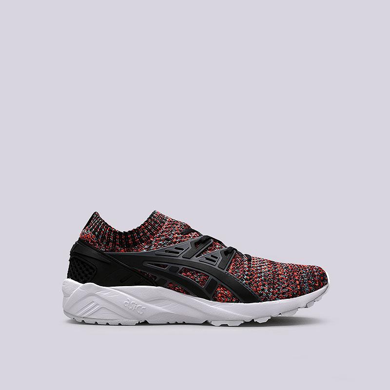 13e0fbb1 мужские черные кроссовки asics tiger gel-kayano trainer knit HN7M4-9790 -  цена,