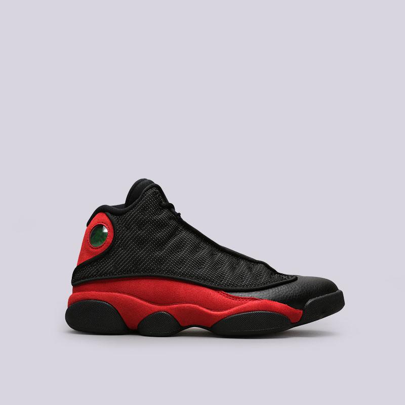 Кроссовки Jordan XIII RetroКроссовки lifestyle<br>Текстиль, кожа, резина, пластик<br><br>Цвет: Черный, красный<br>Размеры US: 8;11.5<br>Пол: Мужской