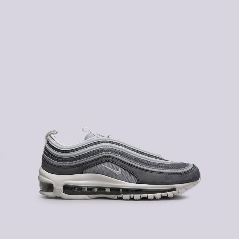 Кроссовки Nike Sportswear Air Max 97 PremiumКроссовки lifestyle<br>Текстиль, резина<br><br>Цвет: Серый<br>Размеры US: 7<br>Пол: Мужской