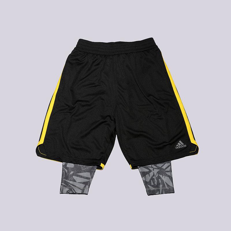 Шорты adidas ESS 2In1 ShortШорты<br>Полиэстер<br><br>Цвет: Черный<br>Размеры UK: S;2XL<br>Пол: Мужской