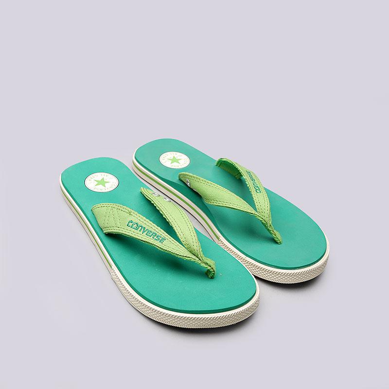 Купить зелёные  сланцы converse ct sandal в магазинах Streetball изображение - 2 картинки