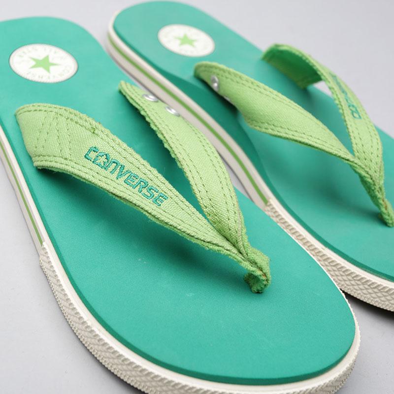 Купить зелёные  сланцы converse ct sandal в магазинах Streetball изображение - 3 картинки