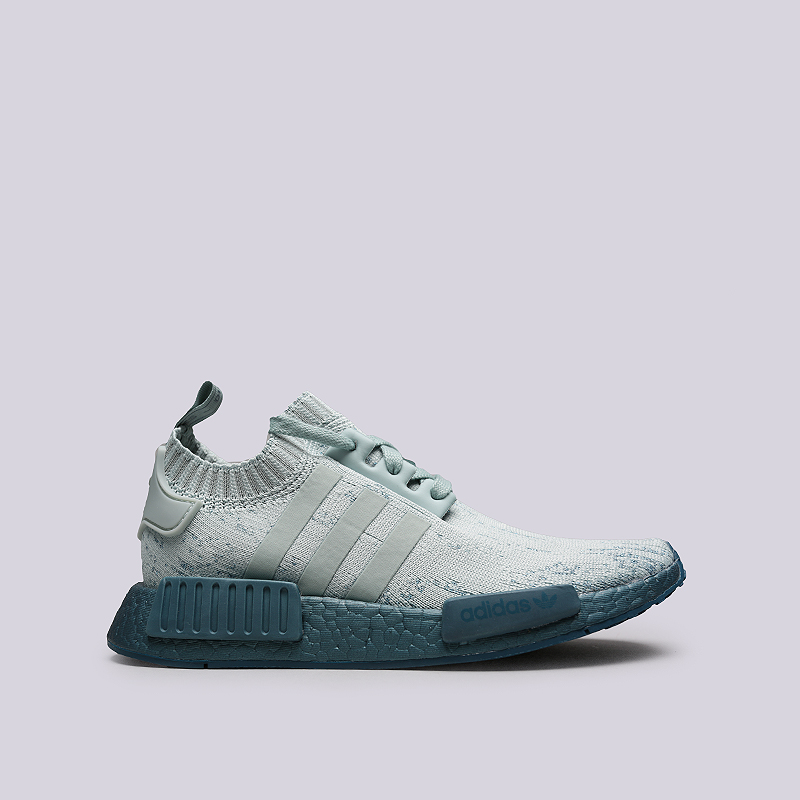 Кроссовки adidas NMD_R1 W PKКроссовки lifestyle<br>Текстиль, резина<br><br>Цвет: Голубой<br>Размеры UK: 5;5.5;6;6.5;7;7.5<br>Пол: Женский