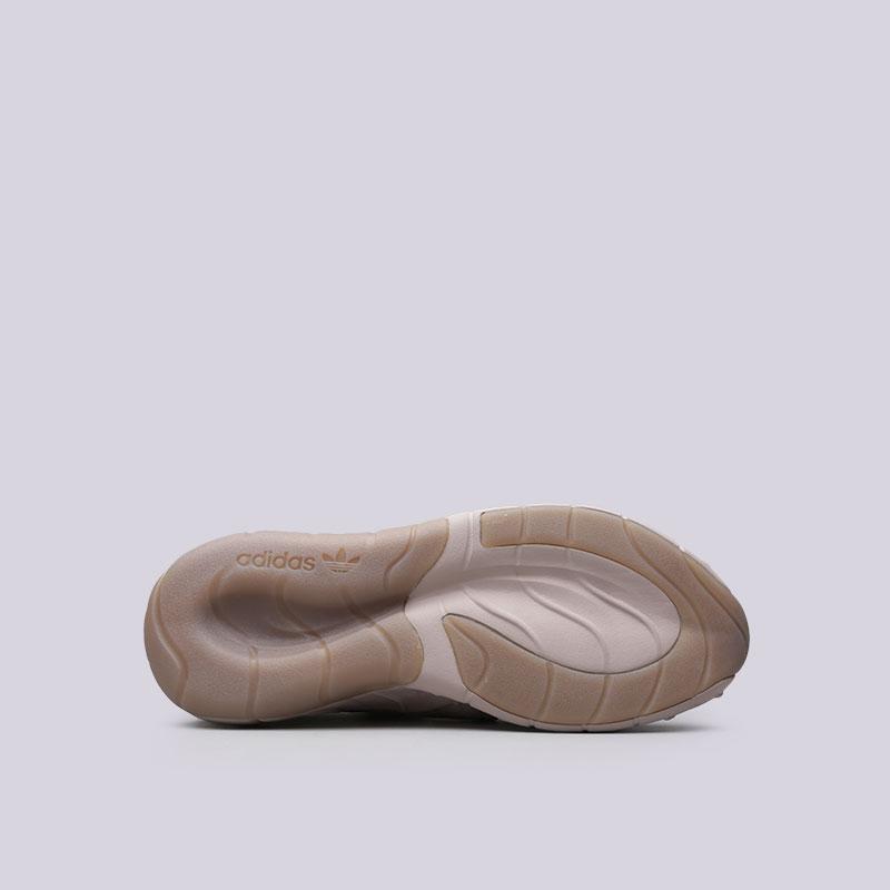 Купить мужские бежевые  кроссовки adidas tubular rise в магазинах Streetball изображение - 2 картинки