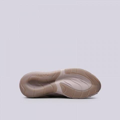 Купить мужские бежевые  кроссовки adidas tubular rise в магазинах Streetball - изображение 2 картинки