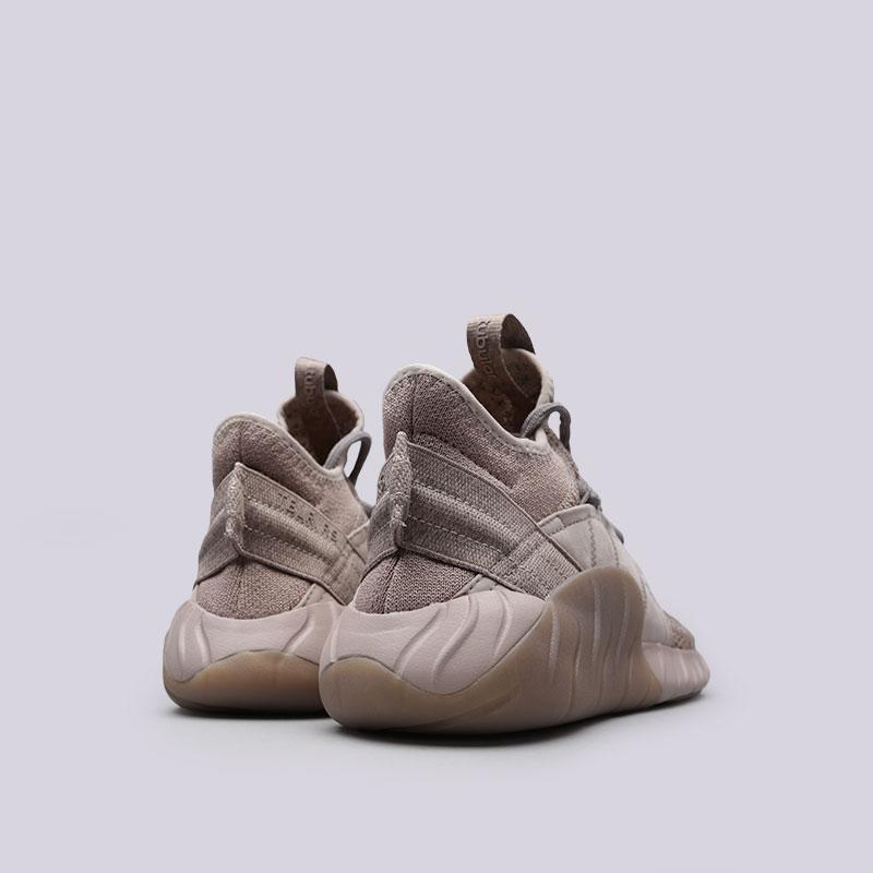 Купить мужские бежевые  кроссовки adidas tubular rise в магазинах Streetball изображение - 3 картинки