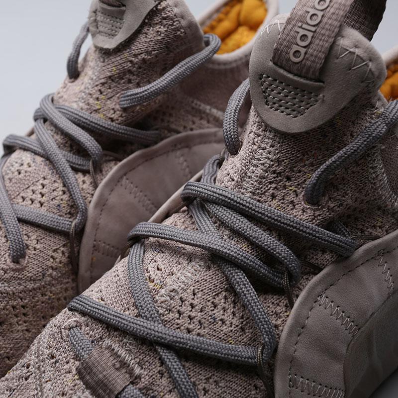 Купить мужские бежевые  кроссовки adidas tubular rise в магазинах Streetball изображение - 5 картинки