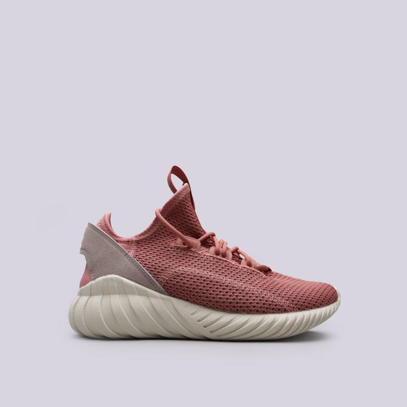 Кроссовки adidas Tubular Doom Sock PK WСланцы, балетки<br>Текстиль, кожа, резина<br><br>Цвет: Розовый<br>Размеры UK: 5;5.5;6;6.5;7<br>Пол: Женский