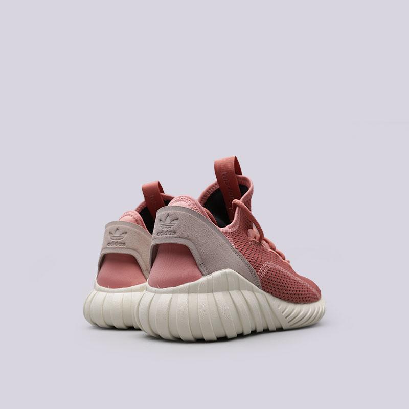 Купить женские розовые  кроссовки adidas tubular doom sock pk w в магазинах Streetball изображение - 3 картинки