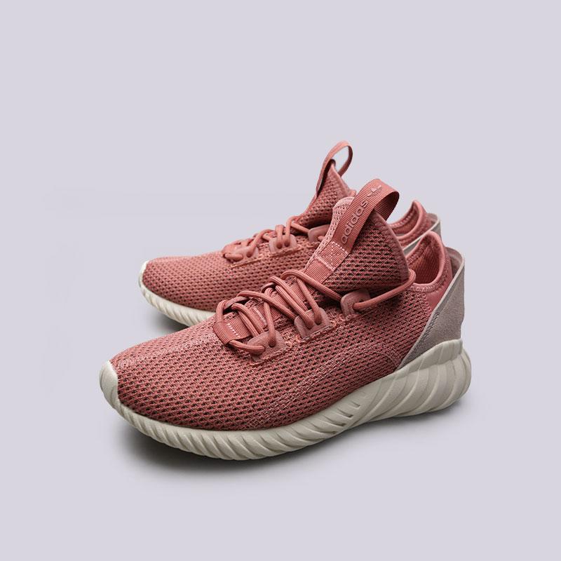 Купить женские розовые  кроссовки adidas tubular doom sock pk w в магазинах Streetball изображение - 5 картинки