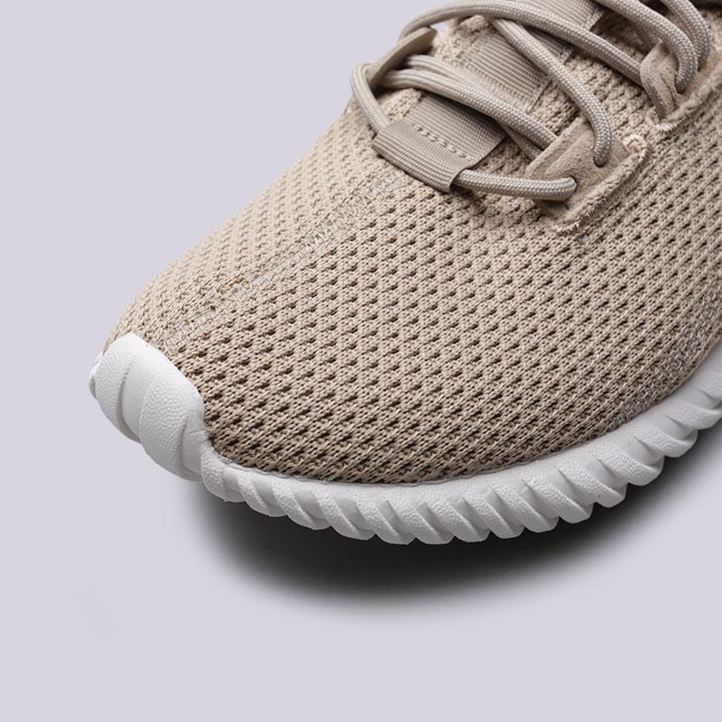 мужские бежевые  кроссовки adidas tubular doom sock BY3562 - цена, описание, фото 5
