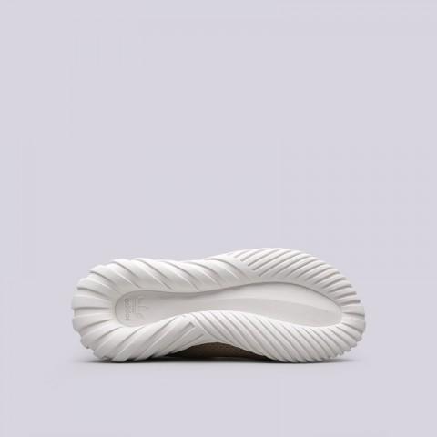 мужские бежевые  кроссовки adidas tubular doom sock BY3562 - цена, описание, фото 2