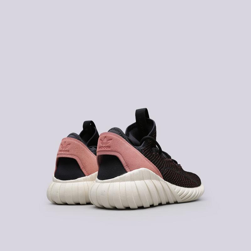 Купить женские черные  кроссовки adidas tubular doom sock pk w в магазинах Streetball изображение - 3 картинки