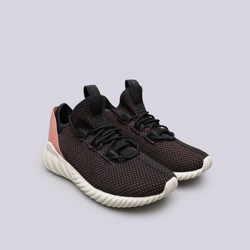 Купить женские черные  кроссовки adidas tubular doom sock pk w в магазинах Streetball изображение - 4 картинки