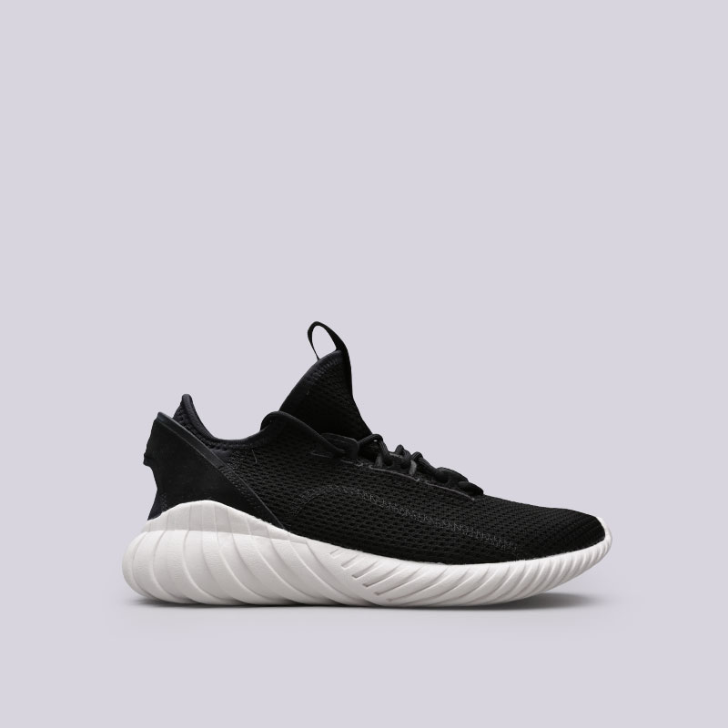 мужские черные  кроссовки adidas tubular doom sock BY3563 - цена, описание, фото 1