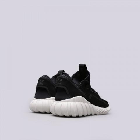 мужские черные  кроссовки adidas tubular doom sock BY3563 - цена, описание, фото 3