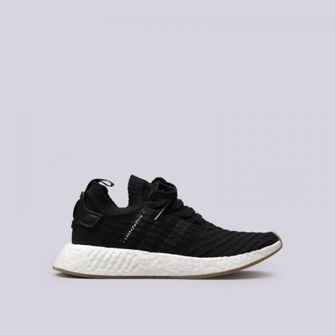 Купить мужские черные  кроссовки adidas nmd_r2 pk в магазинах Streetball - изображение 1 картинки