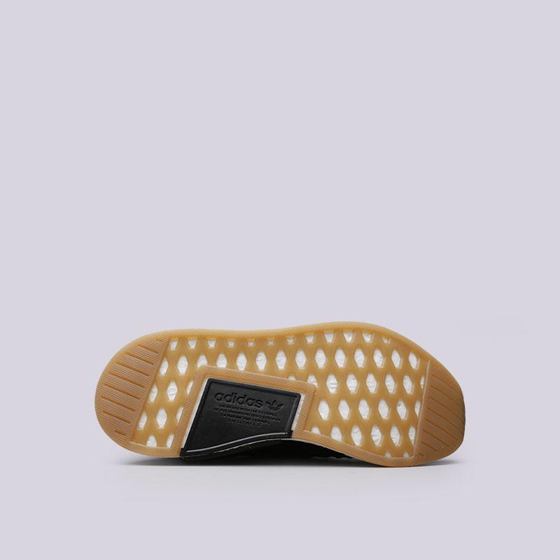 Купить мужские черные  кроссовки adidas nmd_r2 pk в магазинах Streetball изображение - 2 картинки