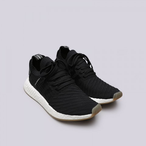 Купить мужские черные  кроссовки adidas nmd_r2 pk в магазинах Streetball - изображение 4 картинки