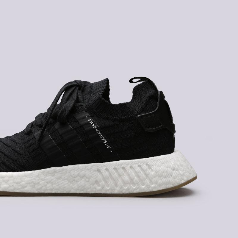 мужские черные  кроссовки adidas nmd_r2 pk BY9696 - цена, описание, фото 5
