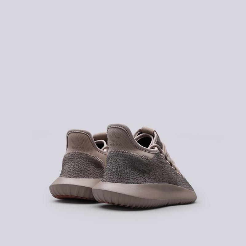 Купить мужские бежевые  кроссовки adidas tubular shadow в магазинах Streetball изображение - 3 картинки