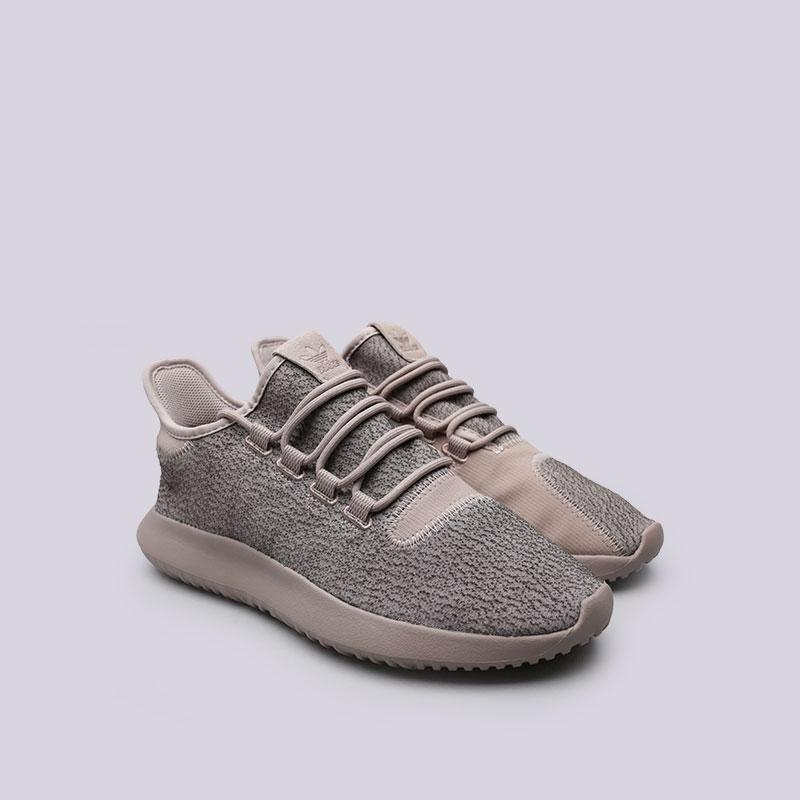 Купить мужские бежевые  кроссовки adidas tubular shadow в магазинах Streetball изображение - 4 картинки