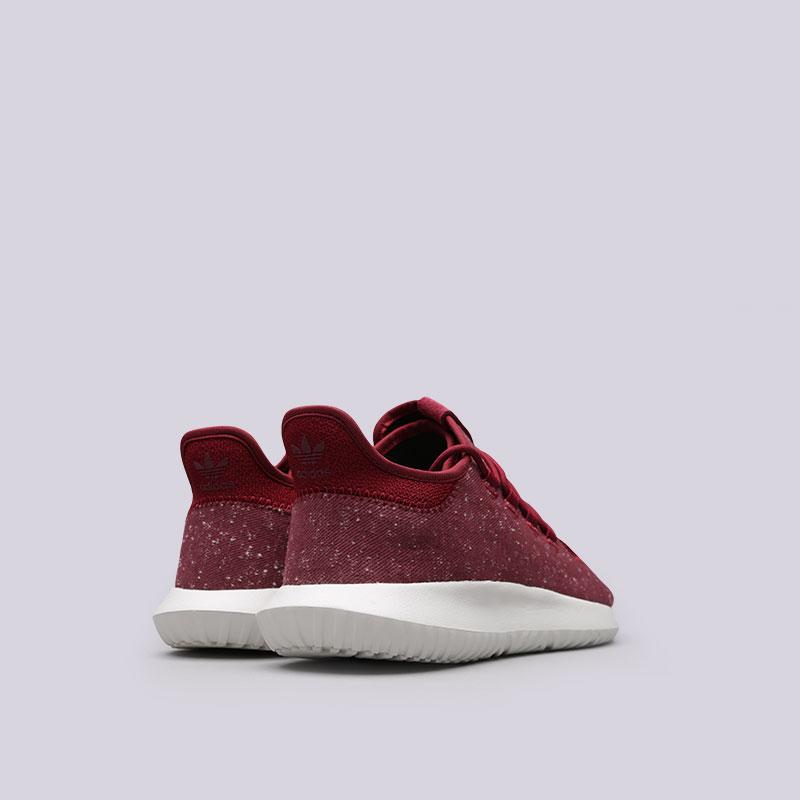 мужские красные  кроссовки adidas tubular shadow BY3571 - цена, описание, фото 3