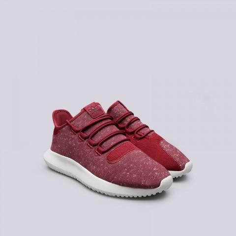мужские красные  кроссовки adidas tubular shadow BY3571 - цена, описание, фото 4