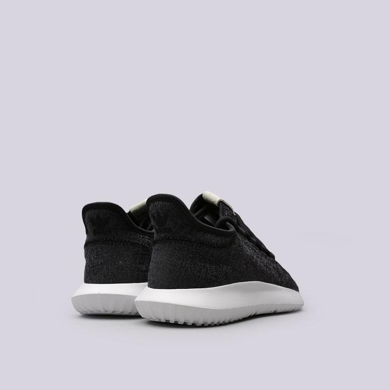 женские черные  кроссовки adidas tubular shadow w BY2121 - цена, описание, фото 3