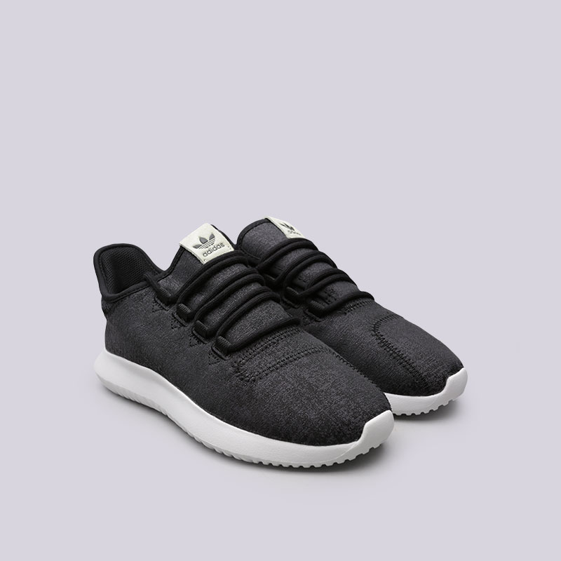 женские черные  кроссовки adidas tubular shadow w BY2121 - цена, описание, фото 4