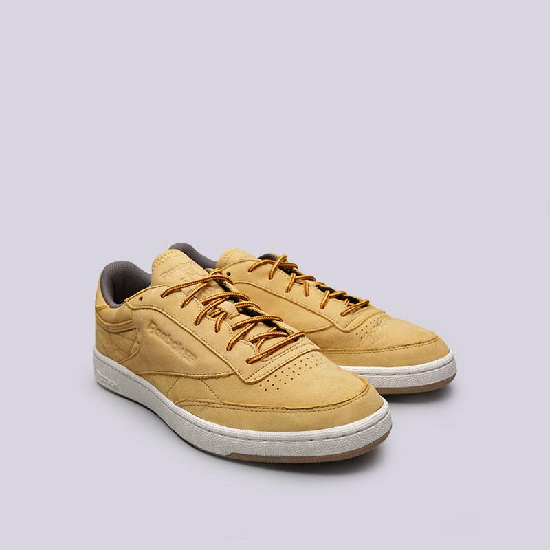 c572e430 мужские жёлтые кроссовки reebok club c 85 wp BS5205 - цена, описание, фото 4