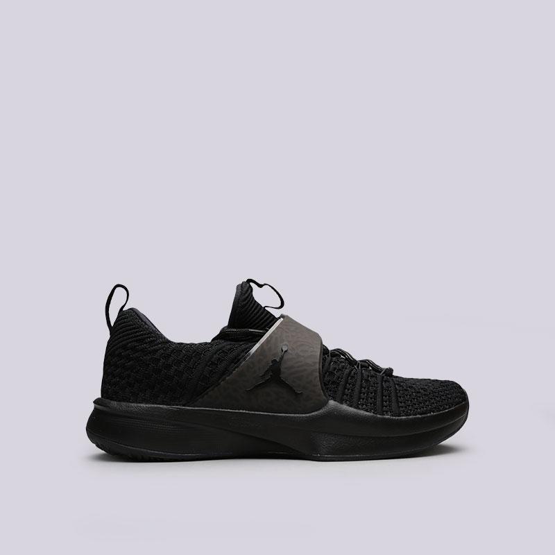Кроссовки Jordan Trainer 2 FlyknitКроссовки lifestyle<br>Текстиль, резина<br><br>Цвет: Черный<br>Размеры US: 8;8.5;9;10;10.5;11;11.5;12;12.5;13<br>Пол: Мужской