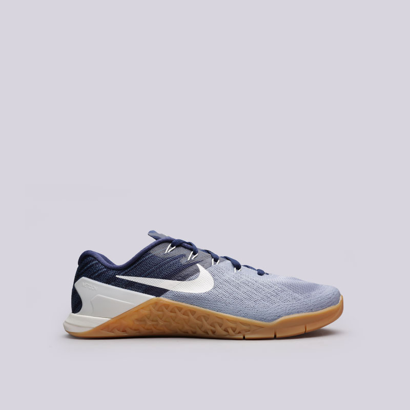 Кроссовки Nike Metcon 3Кроссовки lifestyle<br>Текстиль, пластик, резина<br><br>Цвет: Синий<br>Размеры US: 8;8.5;9;9.5;10;10.5;11;11.5;12<br>Пол: Мужской