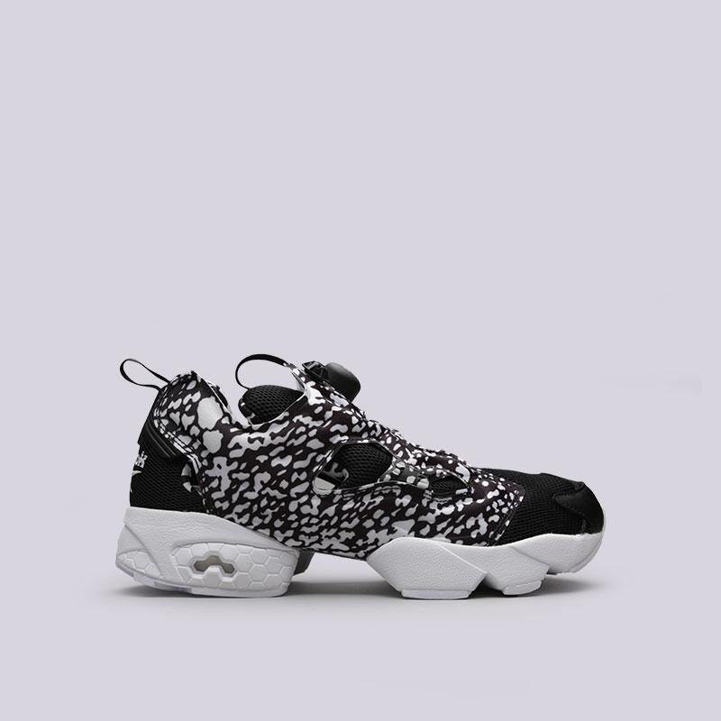 6b48efce мужские черные кроссовки reebok instapump fury og tw BS6556 - цена,  описание, фото 1