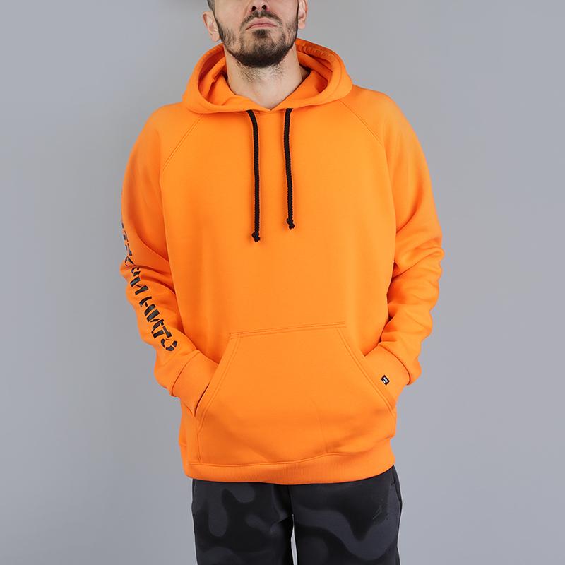 Толстовка Hard Один на одинТолстовки свитера<br>100% хлопок<br><br>Цвет: Оранжевый<br>Размеры : S;M;XL<br>Пол: Мужской