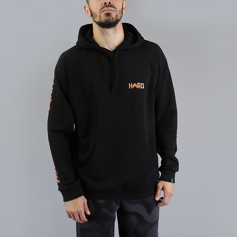 Толстовка Hard Один на одинТолстовки свитера<br>100% хлопок<br><br>Цвет: Черный<br>Размеры : L;M;XL<br>Пол: Мужской