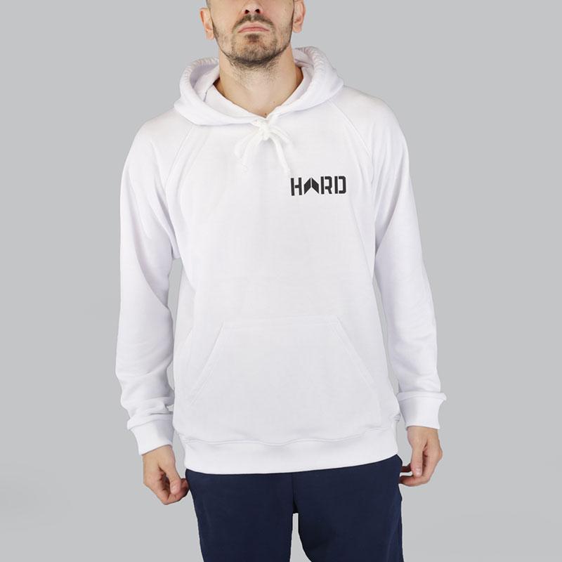 Толстовка Hard LogoТолстовки свитера<br>Хлопок<br><br>Цвет: Белый<br>Размеры : XL;2XL<br>Пол: Мужской