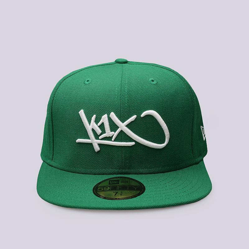 Кепка K1X Large TagКепки<br>Шерсть<br><br>Цвет: Зеленый<br>Размеры US: 7 3/8