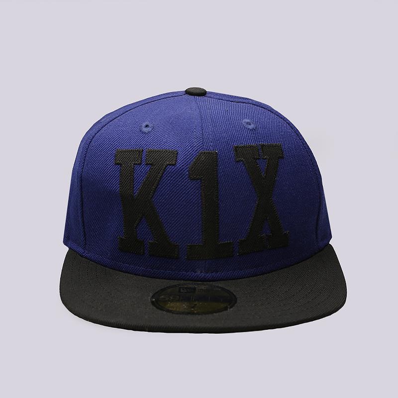 Кепка K1X Simple TypeКепки<br>Шерсть<br><br>Цвет: Синий, черный<br>Размеры US: 7;7 1/8