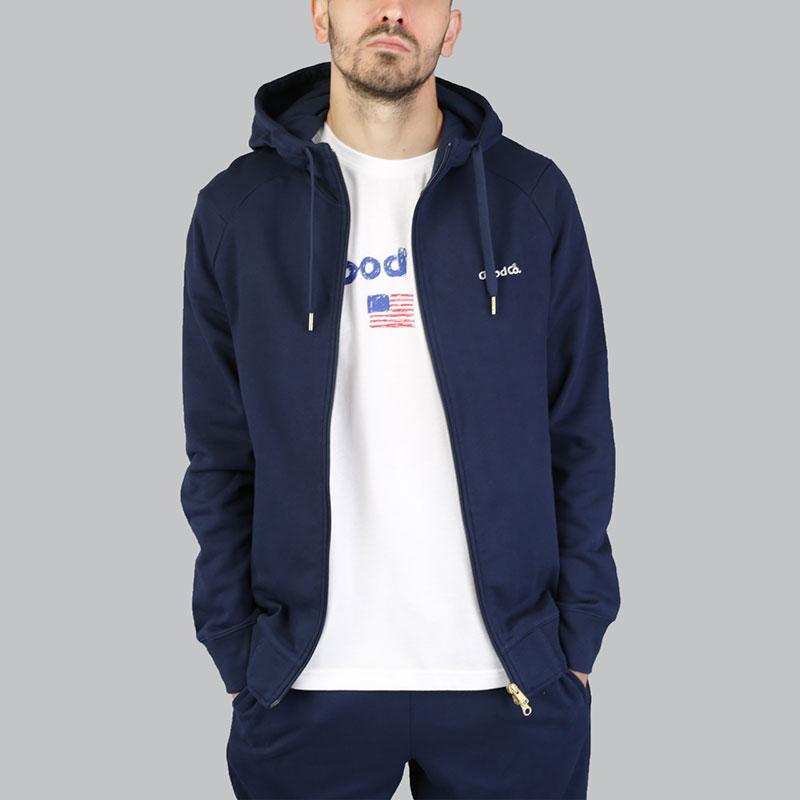 Толстовка Reebok TGC FZ HoodyТолстовки свитера<br>Хлопок<br><br>Цвет: Синий<br>Размеры US: S;M;L;XL;2XL<br>Пол: Мужской