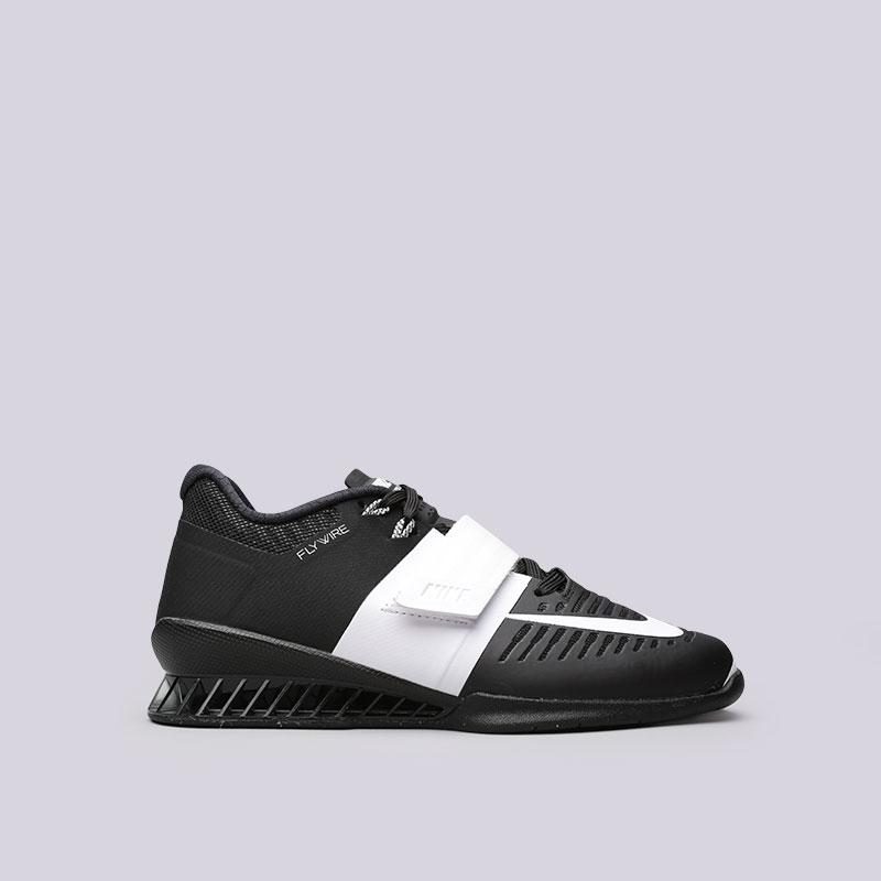 Кроссовки  Nike WMNS Romaleos 3Кроссовки lifestyle<br>Пластик, текстиль, резина<br><br>Цвет: Черный<br>Размеры US: 6;6.5;7;7.5;8;8.5;9<br>Пол: Женский
