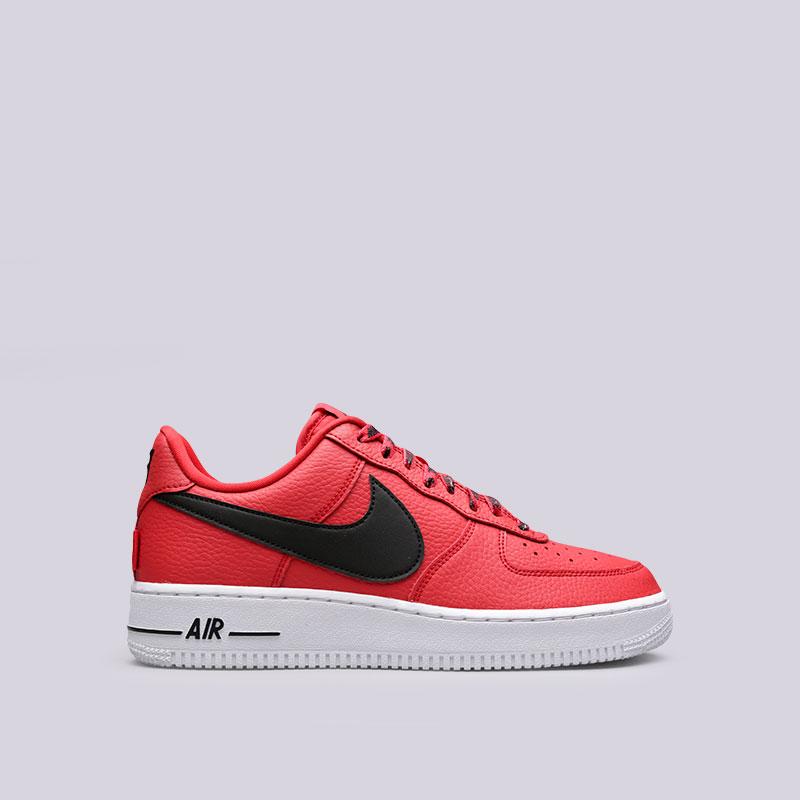 Кроссовки Nike Air Force 1 07 LV8Кроссовки lifestyle<br>Кожа, текстиль, резина<br><br>Цвет: Красный<br>Размеры US: 9.5;10;11.5;12;12.5;13;15<br>Пол: Мужской
