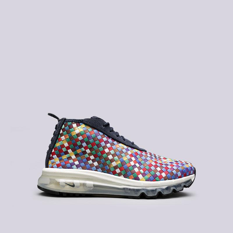 Кроссовки Nike Sportswear Air Max Woven Boot SEКроссовки lifestyle<br>Текстиль, кожа, резина<br><br>Цвет: Мультиколор<br>Размеры US: 7;8;9.5;10;10.5;11;11.5;12<br>Пол: Мужской