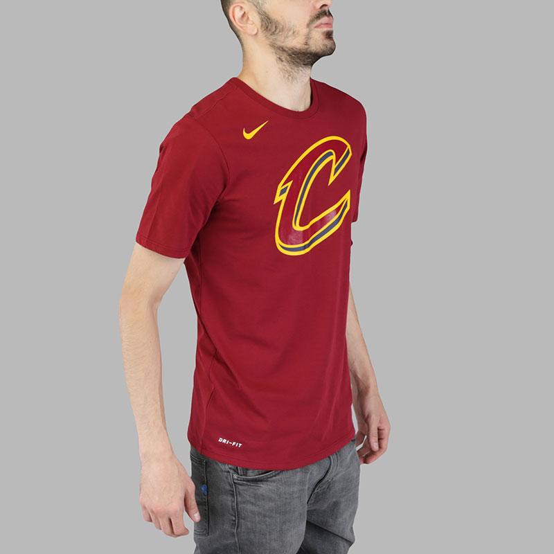 Фото Футболка Nike NBA Cleveland Cavaliers Dry Logo. Купить в РФ