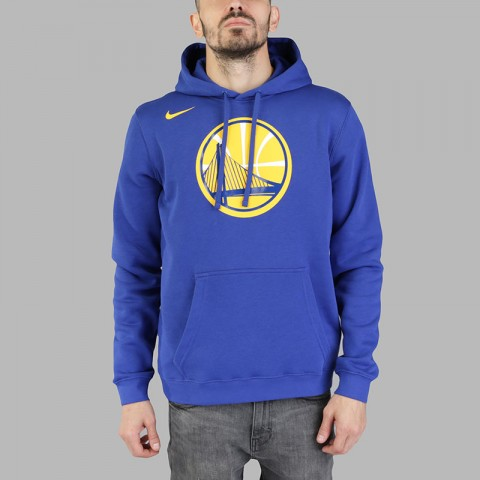 Толстовка Nike Golden State Warriors Hoodie Club Logo