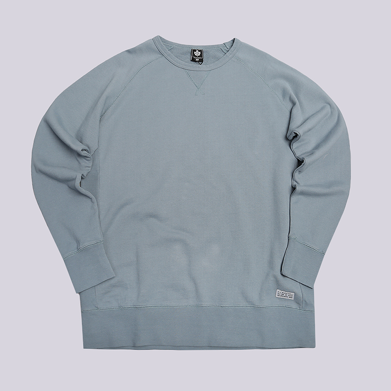 Толстовка K1X Washed Authentic CrewneckТолстовки свитера<br>Хлопок<br><br>Цвет: Голубой<br>Размеры US: S;M<br>Пол: Мужской