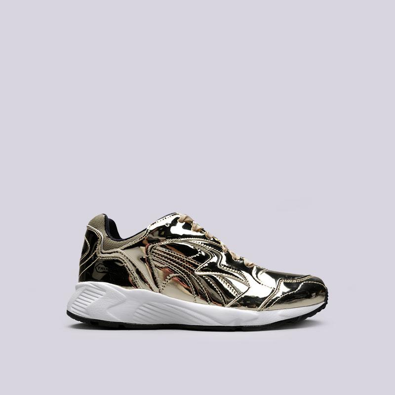 Кроссовки Puma Prevail Metal WnsКроссовки lifestyle<br>Синтетика, текстиль, резина<br><br>Цвет: Золотой<br>Размеры UK: 5;5.5;6;6.5;7;7.5;8<br>Пол: Женский