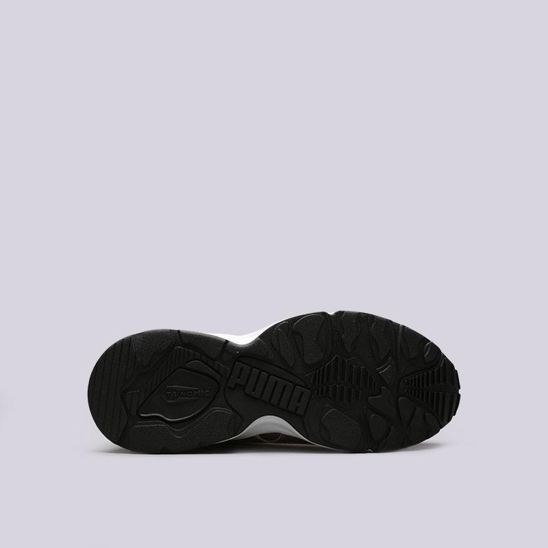 женские золотые  кроссовки puma prevail metal wn's 36413502 - цена, описание, фото 2
