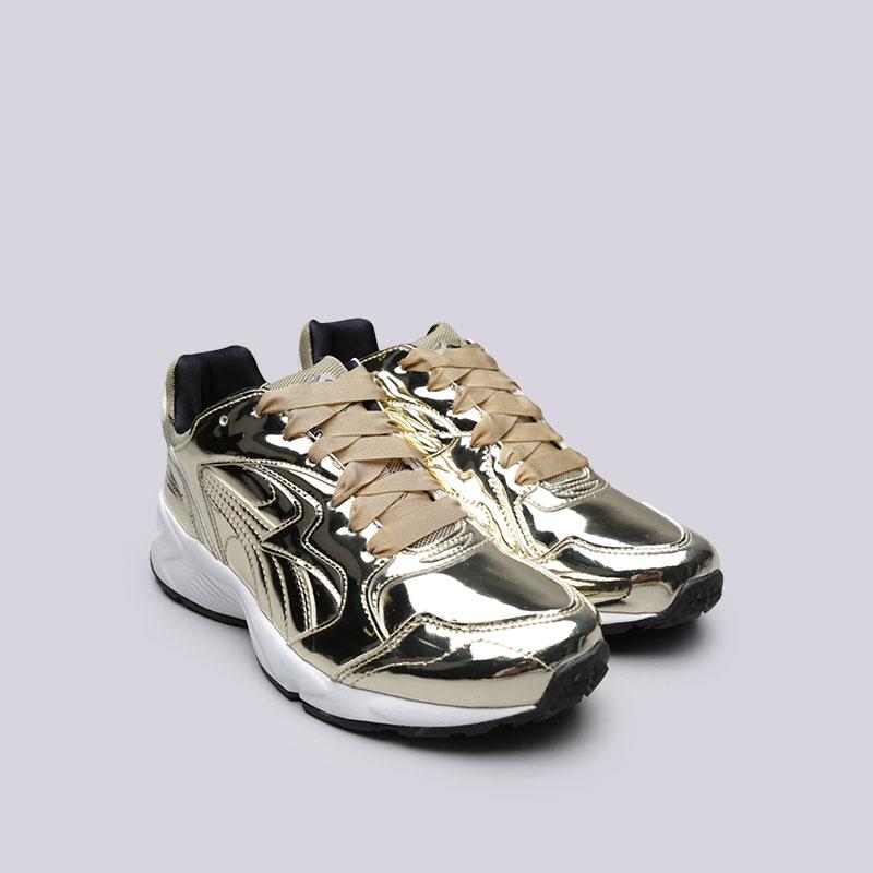 женские золотые  кроссовки puma prevail metal wn's 36413502 - цена, описание, фото 4